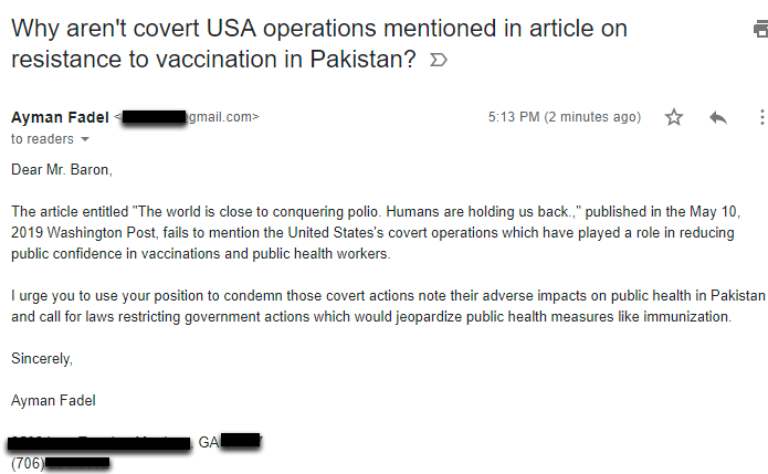 USA Covert Operations Pakistan Immunizations (1)